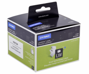 Dymo Removable White name badge 89mm x 41mm / 300 labels ...