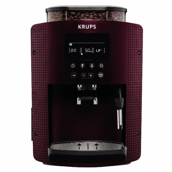 Kávovar Krups Espresso EA815G bordó/černá