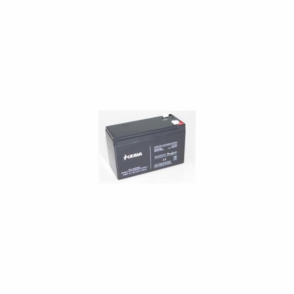 Baterie - FUKAWA FW 7,2-12 F2 U (12V/7,2 Ah - Faston 250) SLA baterie, konektor - 6.3mm