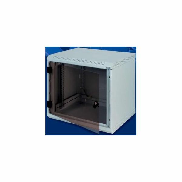 Nástěnný rozvaděč jednodílný 12U (š)600x(h)495