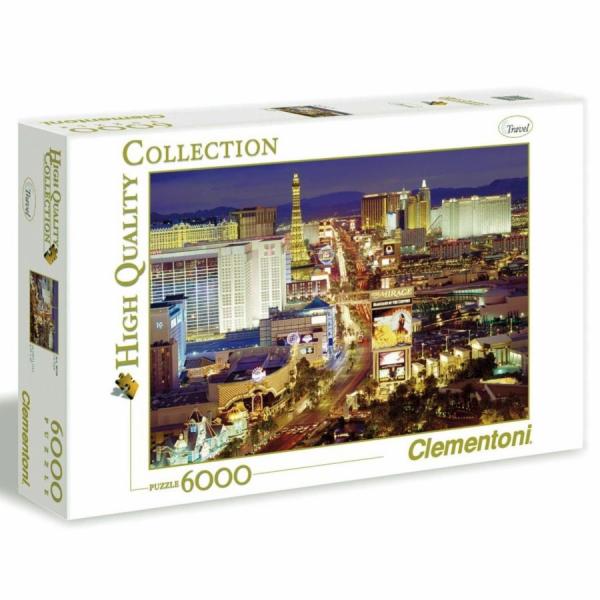 Puzzle 6000 dílků Las Vegas