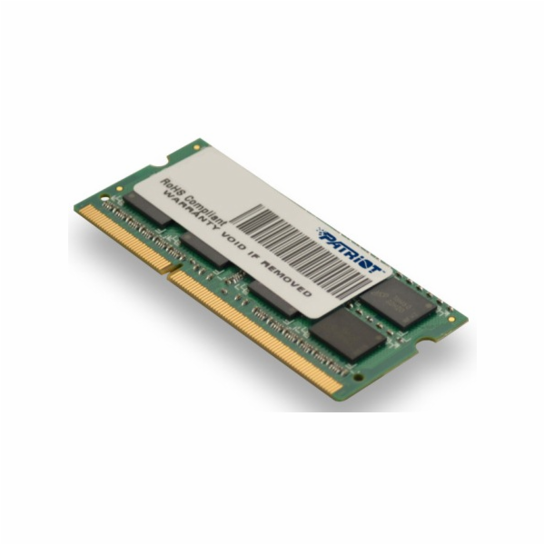SO-DIMM 8GB DDR3-1333MHz PATRIOT, 2x4GB pro Apple