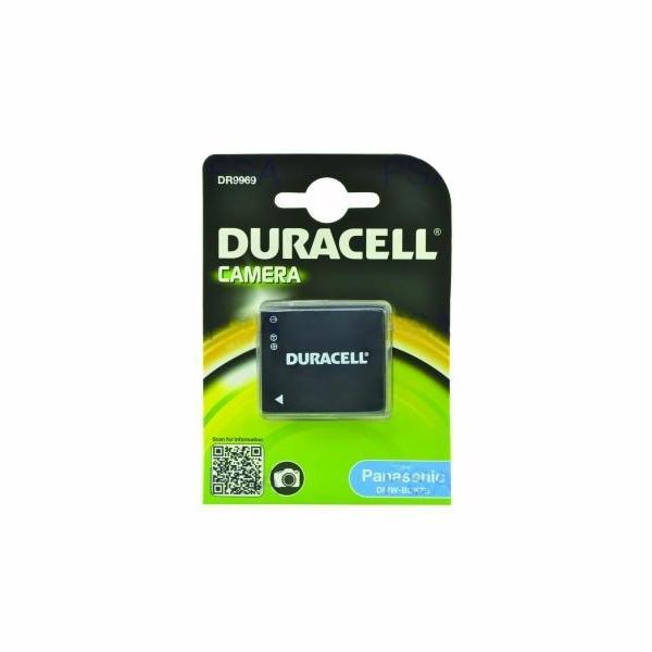 DURACELL Baterie - DR9969 pro Panasonic DMW-BCK7E, černá, 630 mAh, 3,6 V