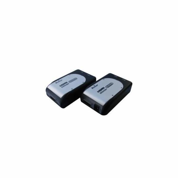 HDMI extender na 60m přes 2x Cat5e