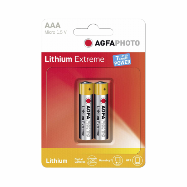 1x2 AgfaPhoto extreme Lithium Micro AAA