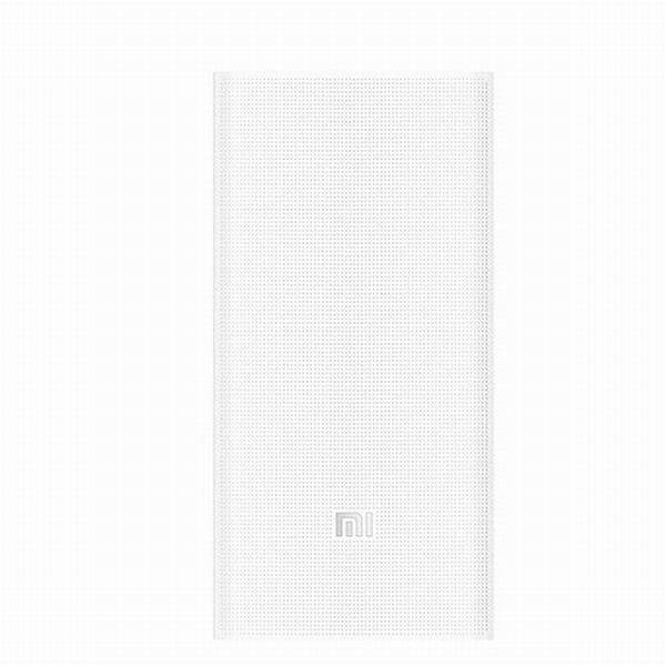Xiaomi Power Bank Portable 2C, 20000 mAh, 2x USB, white