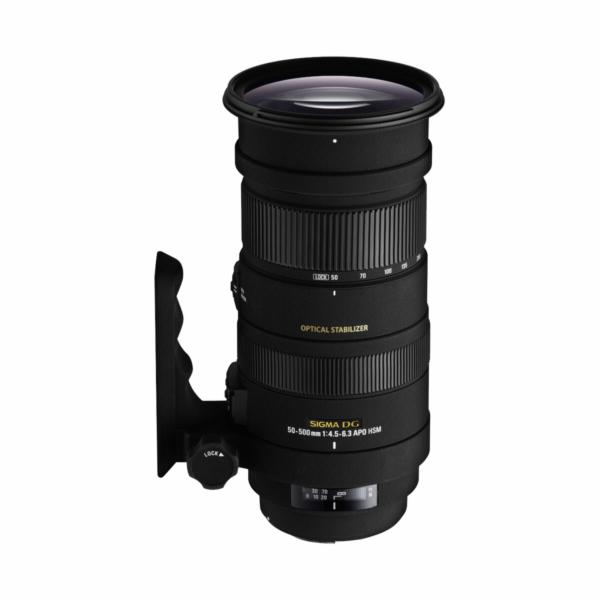 Objektiv Sigma 50-500/4.5-6.3 APO DG OS pro Nikon