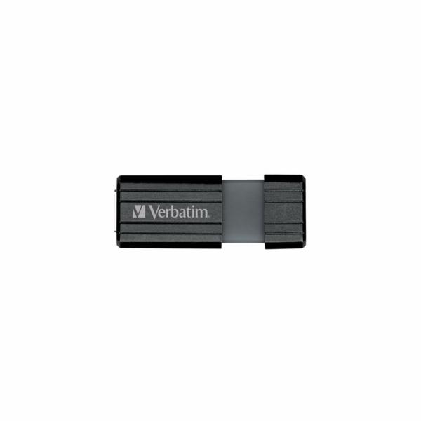 USB FD 32GB PINSTRIPE BLACK VERBATIM