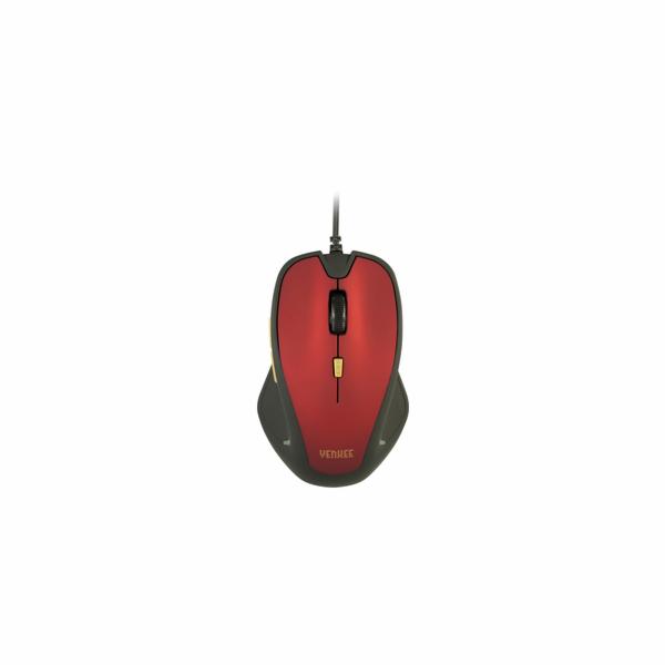 YMS 1010RD Myš USB Dakar Red YENKEE