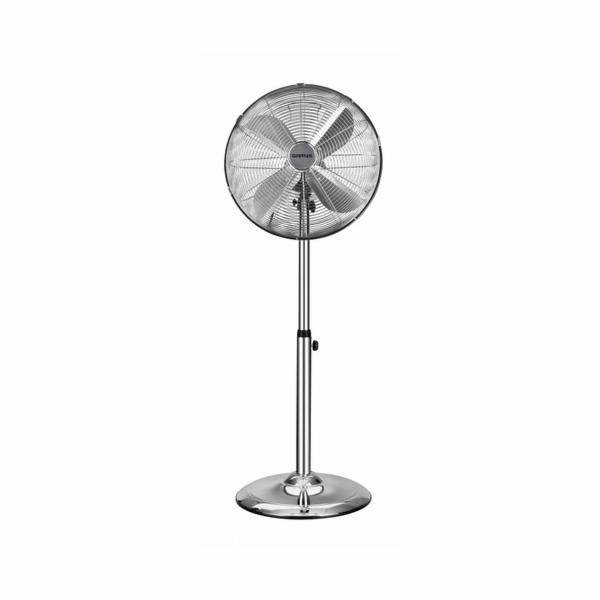 G5001506 Stojanový ventilátor,40cm,chrom