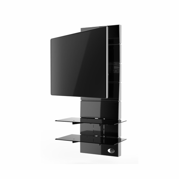 488310 BK Nástěný držák TV+kompon.