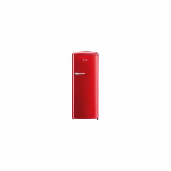 Chladnička Gorenje ORB153RD, červená