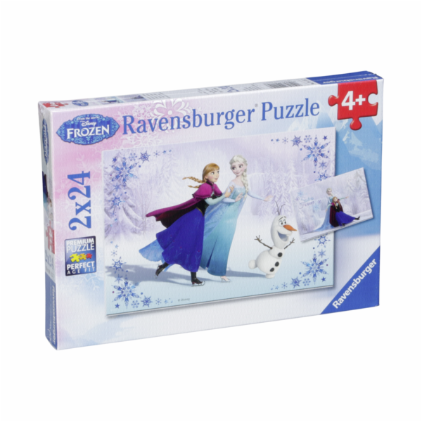 Ravensburger Sisters Always 2 X 24 pcs Puzzle Disney Frozen