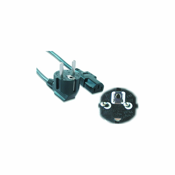 Kabel GEMBIRD síťový 5m VDE 220/230V napájecí