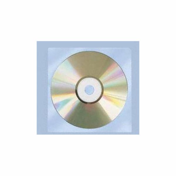 Polypropylenový obal na CD/DVD-bez klipu, 100ks
