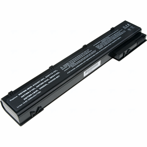Baterie T6 power HP EliteBook 8560w, 8570w, 8760w, 8770w, 8cell, 5200mAh