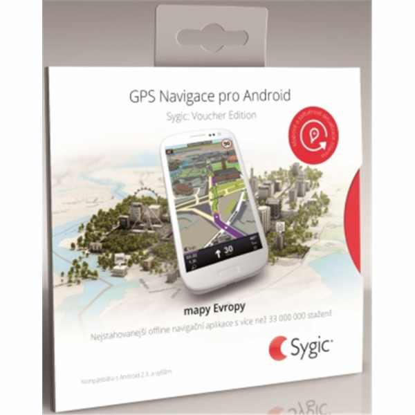Sygic Navigation voucher edition + HUD+ Dash EU