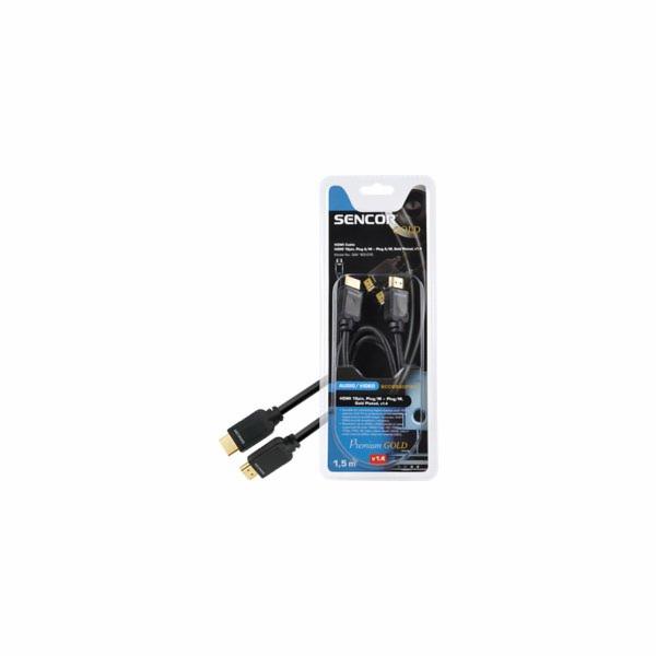 Konektor Sencor HDMI SAV 165-015 M-M 1,5M v1.4 PG