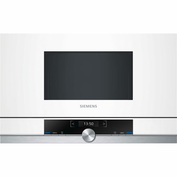 Siemens BF634LGW1 iQ700 vestavná mikrovlnná trouba bílá