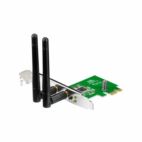 ASUS PCE-N15, Bezdrátový PCI-E Adapter adaptér 802.11b/g/n s rychlostí 300 Mb/s