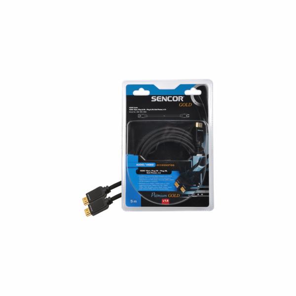 Kabel Sencor SAV 165-050 HDMI M-M 5M v1.4 PG