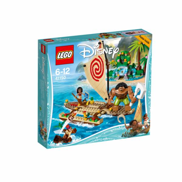 LEGO Disney Vaiana a její plavba po oceánu