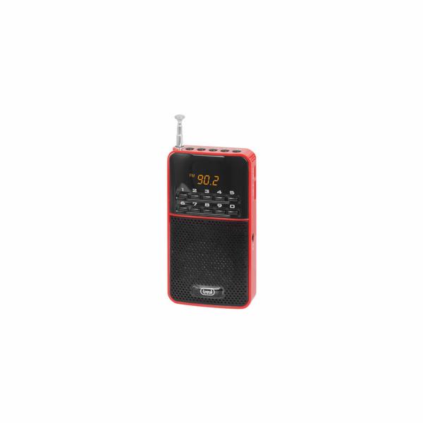 DR 730 M/RED Kapesní rádio, PLL tuner FM