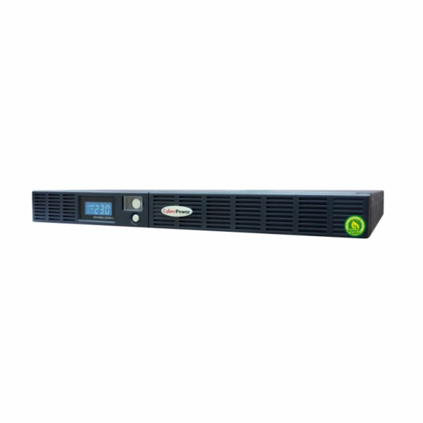 CyberPower GreenPower Office LCD RM 1000VA/600W, 1U, hloubka 39 cm
