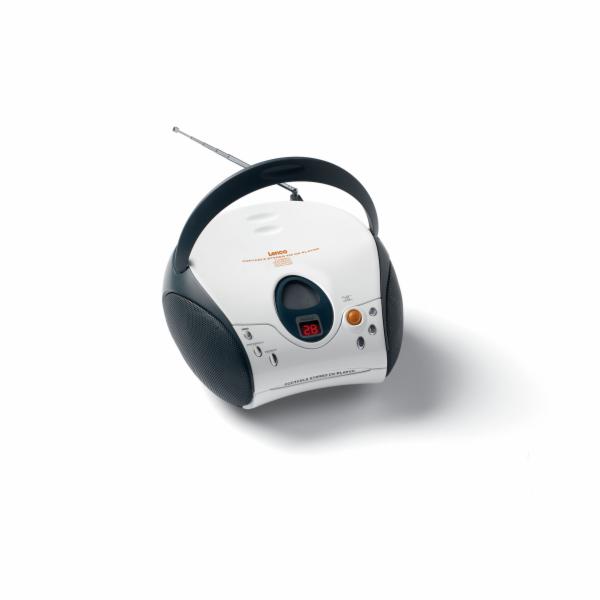 CD přehrávač Lenco SCD-24 bílý