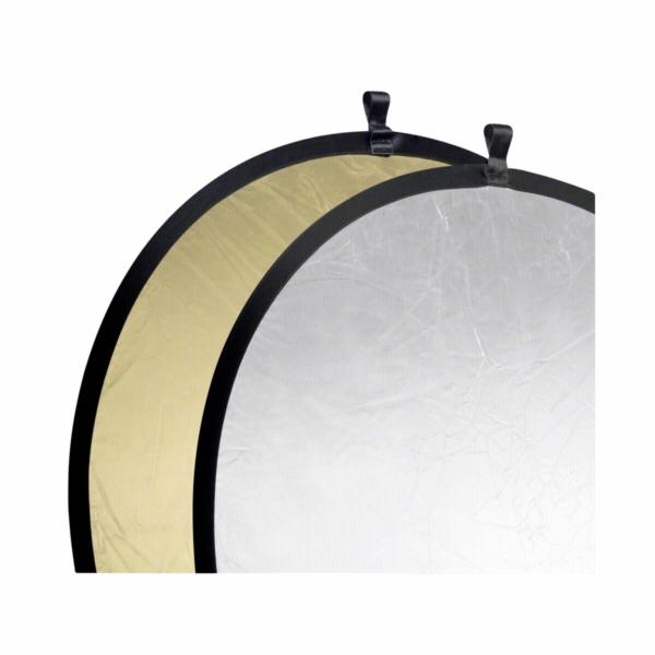 Odrazné desky Walimex zlatá-stříbrná 107cm