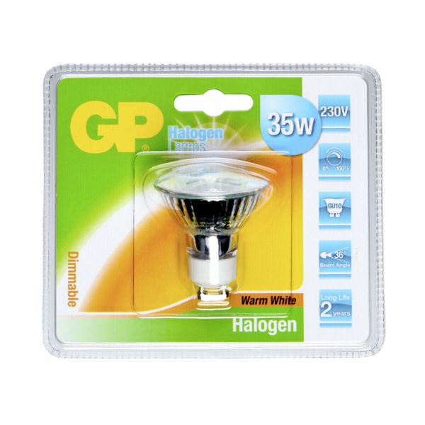 GP Lighting Halogen. Twist 35W/230V GU10 Reflektor 300 lm