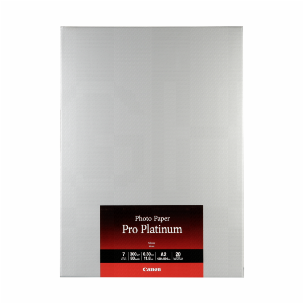 Canon PT-101 A 2, 20 Sheets Photo Paper Pro Platinum 300 g