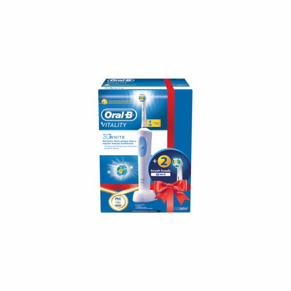 Zubní kartáček Oral-B Vitality 3DWhite + EB 18-2 3D White Luxe