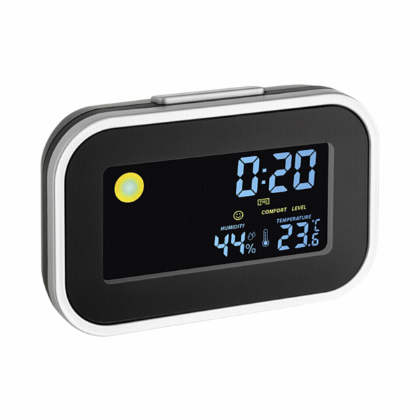 TFA 60.2015 Alarm Clock with Indoor Climate