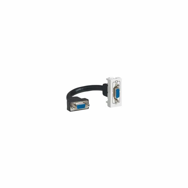 MOSAIC zásuvka předkonektorovaná HD15