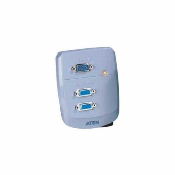 ATEN VS-82 2-portový VGA rozbočovač 250 MHz