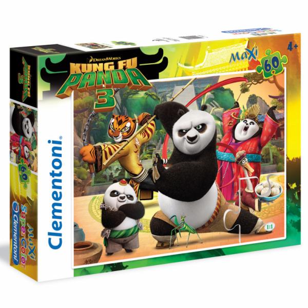 Puzzle Maxi Kung Fu Panda 3 60 dílků