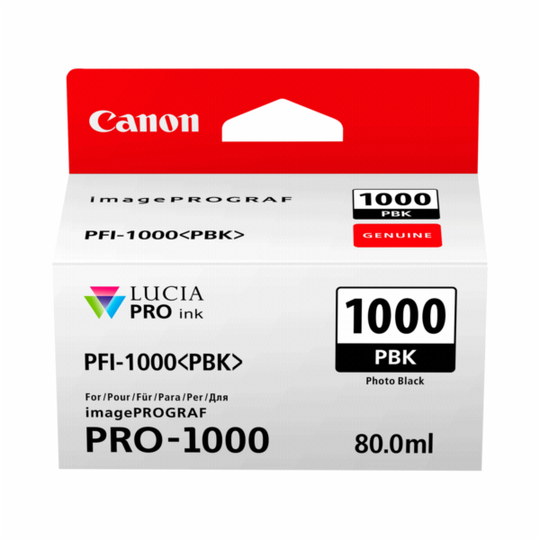 Canon PFI-1000 PBK photo black