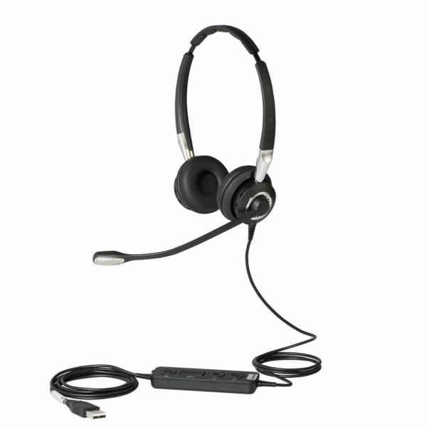 Jabra BIZ 2400 II, Duo, USB, E-STD, NC, FS, MS