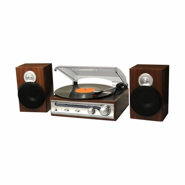 HIF-5988 Gramorádio + 2x repro, FM,33/45