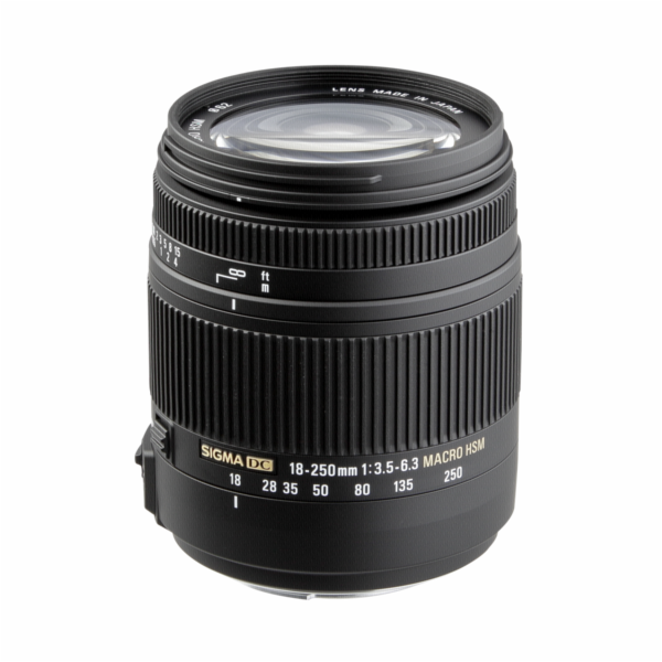 Sigma 18-250mm f/3.5-6.3 DC OS HSM Canon