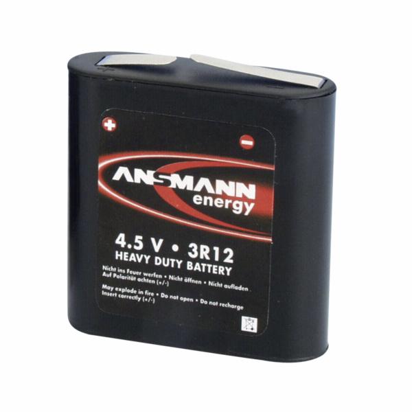 Ansmann 3R12 plocha baterie
