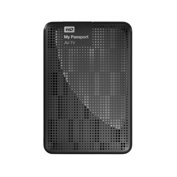 WD My Passport AV-TV 1TB (WDBHDK0010BBK-EESN)