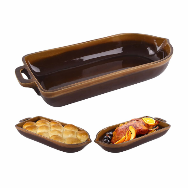 pekáč HUSÁK keramika glaz.48x22,5x7,5