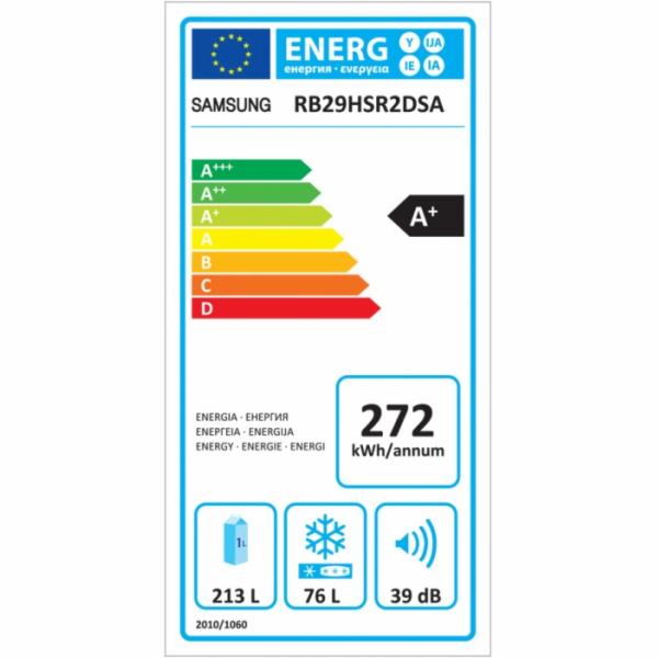 RB 29HSR2DSA/EF CHLADNIČKA KOMBI SAMSUNG