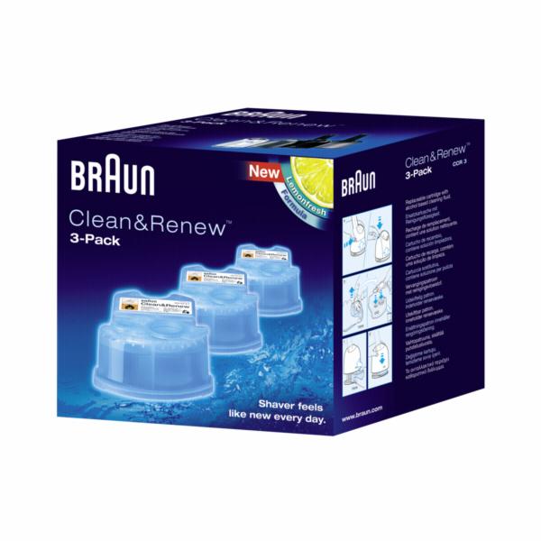 Čistící kazeta Braun CCR 3