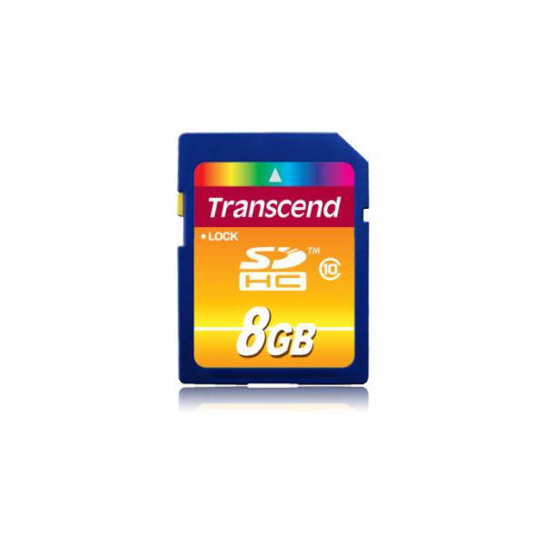 Paměťová karta TRANSCEND 8GB SDHC CARD (SD 3.0 SPD Class 10) memory card