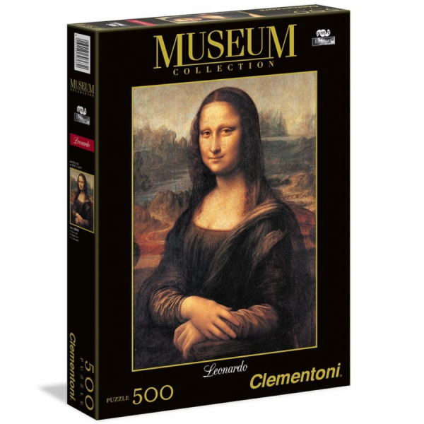 Puzzle Museum 500 dílků Mona Lisa