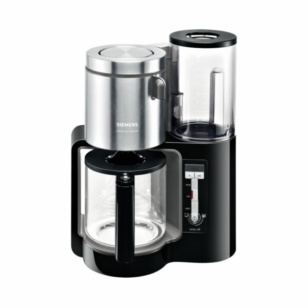 Kávovar Siemens TC 86303, černý-antracit