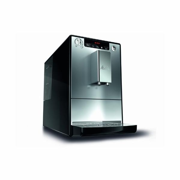 Kávovar Melitta E 950-103 Caffeo Solo, stříbrný/černý